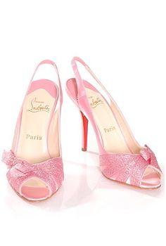pink sparkle louboutin