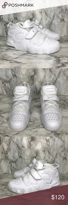 buy online a8d6e f226e NEW Nike Air CB 34 Charles Barkley Triple White Brand new. Never worn. Come