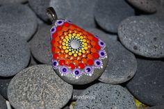 Image of Mandala Pendant Stone 29