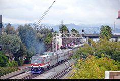 RailPictures.Net Photo: AMTK 42 Amtrak GE P42DC at Anaheim, California by Craig Walker