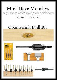 countersink drill bit - craftsmandrive