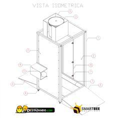 Cabina de desinfección - Destapando.com Material Design, Car Wash, Projects To Try, Emoji, Disney, Ideas, Booth Design, Preventive Maintenance, Storage