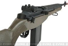 CYMA Full Size M14 Airsoft AEG Rifle - OD Green, Airsoft Guns, Airsoft Electric Rifles, Matrix (Exclusives) - Evike.com Airsoft Superstore