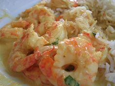 Curry jaune de crevettes express : la recette facile