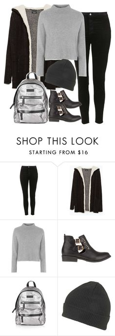 """""""Senza titolo #1317"""" by francesca-valentina-gagliardi ❤ liked on Polyvore featuring Topshop, Zara and River Island"""