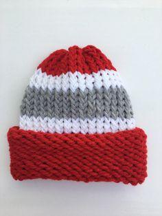 ee491a78eb1 Ohio State Hat OSU Hat Buckeyes Hat Football Hat College Hat Knit Hat  Winter Hat College Football Ha. College HatsCollege ...