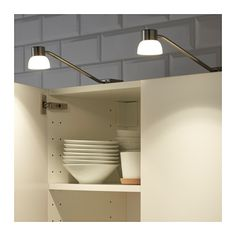 FORMAT LED cabinet light nickel plated