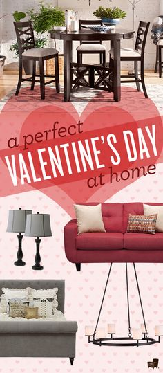 Create the perfect Valentine's Day experience at home with the right pieces from American Signature Furniture!