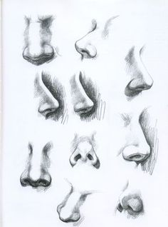 Realistic Portrait Drawing Tutorial How to shade and draw realistic eyes Drawing Heads, Nose Drawing, Painting & Drawing, Drawing Faces, Drawing Portraits, How To Draw Portraits, Drawing Step, Pencil Art Drawings, Art Drawings Sketches