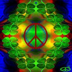 Peace clovers