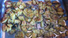 http://cucinamadeinitaly.blogspot.it:  Ricetta: Deliziose patate al forno con lardo
