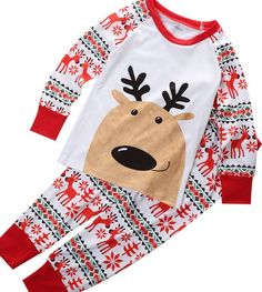 Cute Kids Christmas Pyjamas. 30% proceeds from every purchase goes to animal charities.