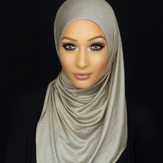 Haute Hijab in Pewter: http://www.hautehijab.com/collections...