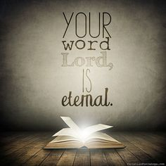 The Word of God is Eternal