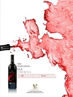 """My wine just puked all over! Cool graphic, like the color. Not in English so I had to pretend what it said: """"This wine is delcious. It will make you happy to drink it. Please buy this wine. This is the best wine advertised in this ad. Wine Poster, Poster Art, Wine Advertising, Barolo Wine, Temecula Wineries, Pinot Noir Wine, Sports Graphic Design, Order Wine Online, Web Design"""