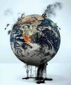 Is this what is happening to our #planet? #environment #pollution #oil #Earth #politics #OnlyHonest