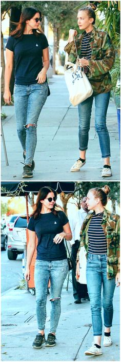 Oct.4, 2017: Lana Del Rey and sister Chuck Grant out and about in West Hollywood #LDR