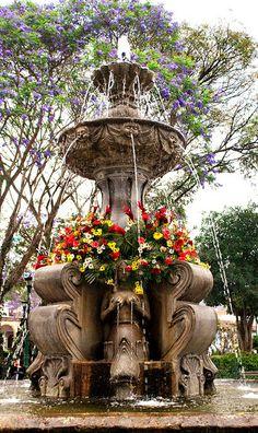 Fuente de las Sirenas  Antigua Guatemala