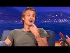 "Timothy Olyphant's ""Justified"" Character Is Getting A Lisp - CONAN on TBS --- this cracks me up!!"