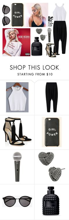 """298-> ""No Broken Hearts"" by Bebe Rexha & Nicki Minaj #2"" by dimibra ❤ liked on Polyvore featuring Bebe, Galaxy Audio, Betsey Johnson, Yves Saint Laurent, Valentino, Sheinside, NickiMinaj, beberexha and shein"