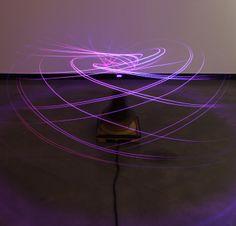 Luxo, Robotic Light Sculpture by Everyware