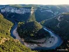 Le plus beau spot des Gorges de l'Ardèche : les Templiers