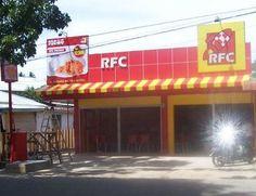 Rocket Fried Chicken (RFC) in Cirebon, Jawa Barat