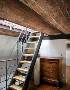 Outstanding 60+ Best Cool Loft Stair Design Ideas for Space Saving https://bosidolot.com/2018/04/11/60-best-cool-loft-stair-design-ideas-for-space-saving/
