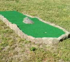 Footprint for an indoor modular mini golf course can be as small as 3,500 square feet for an 18-hole layout, or 2,000 square feet for a 9-hole design.
