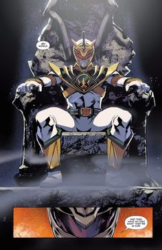The White Ranger, revealed in issue #9 of 'Mighty Morphin Power Rangers'! #SonGokuKakarot