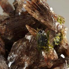 Axinite-(Mn), Epidote, Canta, Canta Province, Lima, Peru. Size 8.2 x 7.8 x 4.5 cm