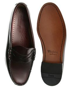G.H. Bass Larson Beefroll Leather Loafers