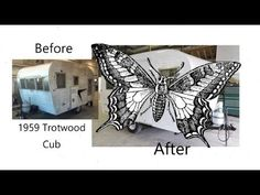 Have a look at this Vintage Trailer Restoration by the Mount Comfort RV Body Shop. This 1959 Trotwood Cub was stored in a barn and brought to us for restorat. Small Travel Trailers, The Body Shop, Cubs, Rv, Restoration, Shoulder Bag, Vintage, Puppies, Motorhome