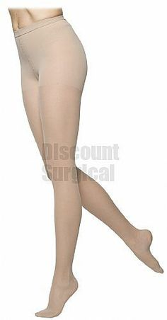 Sigvaris 772P Truly Transparent Pantyhose 20-30mmHg Closed Toe. Incredibly sheer look provides a transparent medical stocking for women who want therapy and style. Continuous graduated compression from toe to waist. No unsightly transition lines from upper thigh to hip and waist. Smooth fit under close-fitting garments. Comfortable, soft, knit-in waistband.