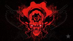 This HD wallpaper is about red and black skull wallpaper, video games, Gears of War creativity, Original wallpaper dimensions is file size is Download Wallpapers For Pc, Latest Hd Wallpapers, Gaming Wallpapers, Skull Wallpaper, 1080p Wallpaper, Iphone Wallpaper, Iphone 8, Gears Of War 2, Skull Illustration