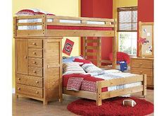 This would b good for Carters bedroom being on bottom and bed up top for wen friends sleep over