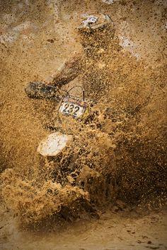 Mud is fun! #redbull