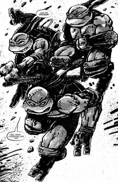 Raphael & Casey Jones Kick It Old School In Kevin Eastman's New Ninja Turtles Annual [Preview]
