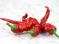"""Maule's Red Hot Pepper 70 days. Also known as """"Lady Finger."""" High yielding plants are very productive, even in short-season climates. Glossy red, 10- to 12-inch Cayenne-type fruits, and of similar heat. A fine sort for picante sauce or drying. Originally introduced by William Maule Seed Company of Philadelphia, in 1912."""