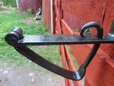 Pilsner och Pigment: En gammal port lås. Enkel och funktionell så det f...