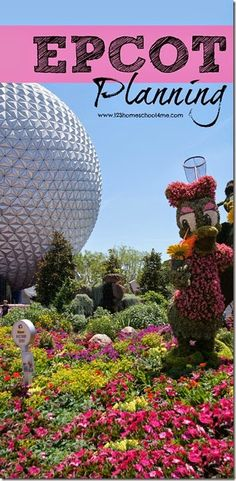 Epcot Planning Tips - Everything you need to know for your Disney World trip