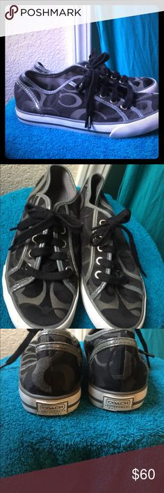 AUTHENTIC COACH Sneakers Good condition.. hardly worn. No flaws Coach Shoes Sneakers