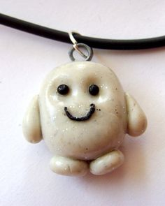 Doctor Who Jewelry | Doctor Who 'Adipose' Necklace by ~tyney123 on deviantART