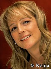 """Helen Hunt -  met at Bravo's Restaurant in Ponce City, OK while filming """" Twister"""" She ate alone in a dark corner while studying the script.  very serious about her work.  1990's"""