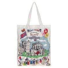 Queen'S 90Th Birthday Book Bag | Foldaway Bags | CathKidston
