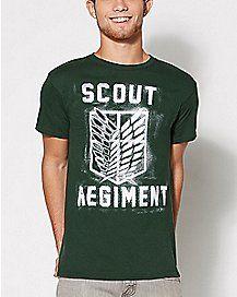 Scout Regiment Attack on Titan T Shirt