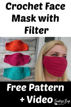 Easy DIY Crochet Face Mask with Filter easy pattern for kid and adult sizes! - Easy DIY Crochet Face Mask with Filter easy pattern for kid and adult sizes! mask with filter Easy DIY Crochet Face Mask with Filter Source by - Crochet Braids, Crochet Mask, Crochet Faces, Crochet Diy, Crochet Quotes, Crochet Humor, Crochet Designs, Crochet Patterns, Easy Patterns