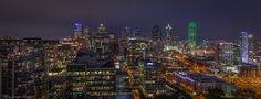 Dallas Skyline At Night (Northside) | Dallas--in fact the entire DFW metro--is on fire right now!