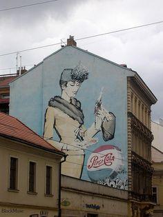 Pepsi Cola, Prague