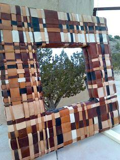 Creative  DIY Mirror Frames Ideas